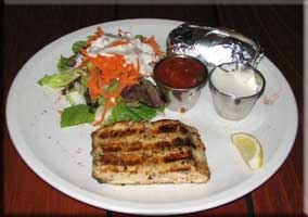 Grilled Mahi plate